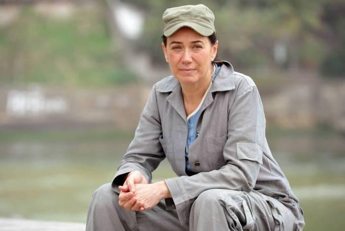 A portuguesa Griselda Pereira, a Pereirão, está de volta à telinha, na edição especial de 'Fina Estampa'