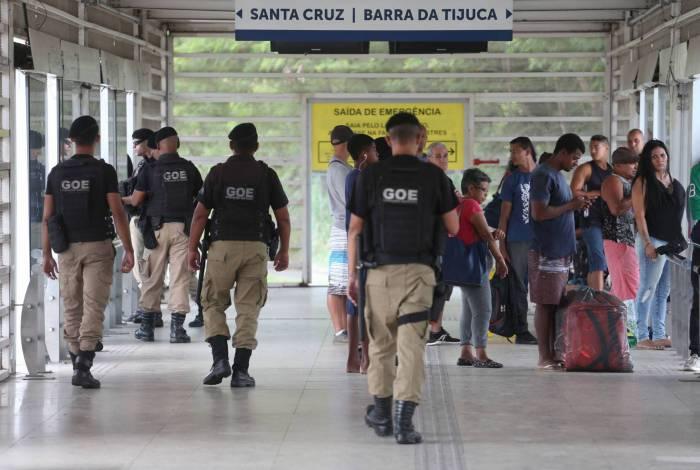 Guardas municipais têm que receber materiais de proteção durante a pandemia