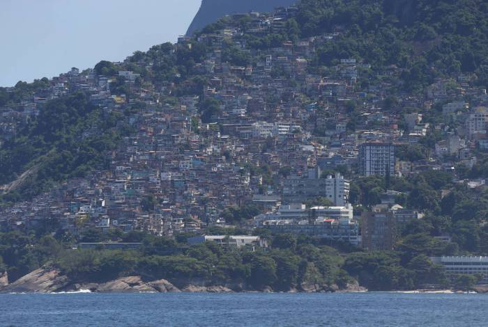 Rio - 25/03/2020 - COVID 19 - CORONAVIRUS - Comunidade do Vidigal. Favela, Morro, Leblon. #corinavirusrio  Foto: Daniel Castelo Branco / Agencia O Dia
