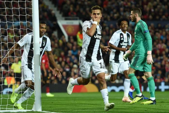 Dybala está na Juventus desde 2015