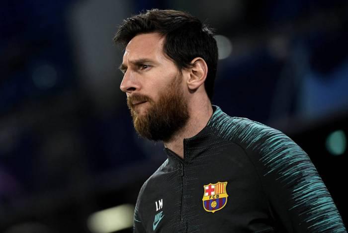 Messi já não havia se apresentado para os exames médicos, no último domingo