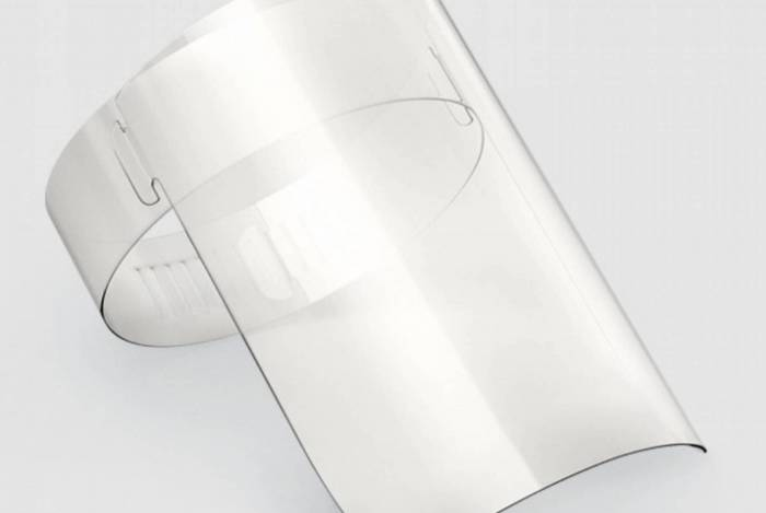 Ambev vai fabricar 3 milhões de máscaras do tipo face shield
