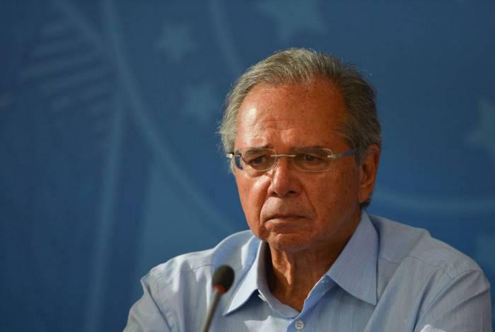 Ministro da Economia, Paulo Guedes fez videoconferência com parlamentares nesta quinta-feira