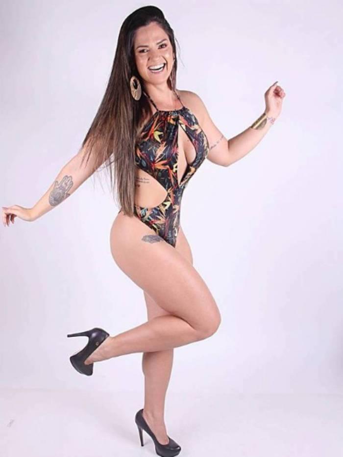 Nathalia Lucas é torcedora do Vasco — A Gata da Hora