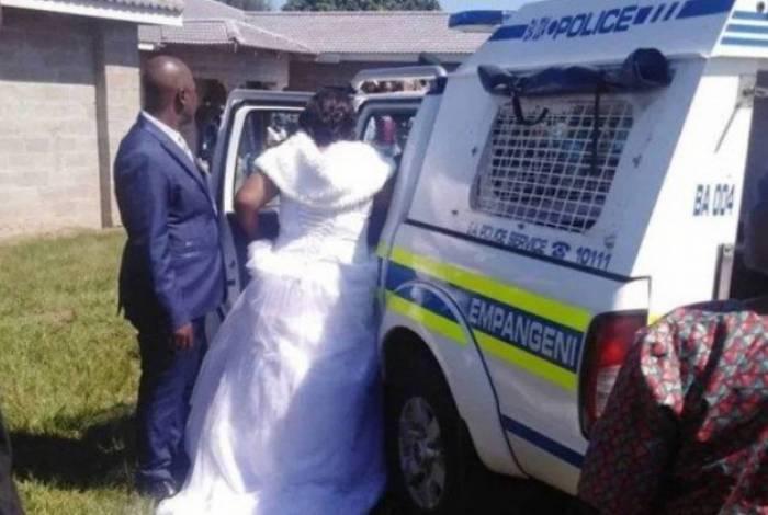 Noivos, pastor e convidados são presos por violarem a quarentena
