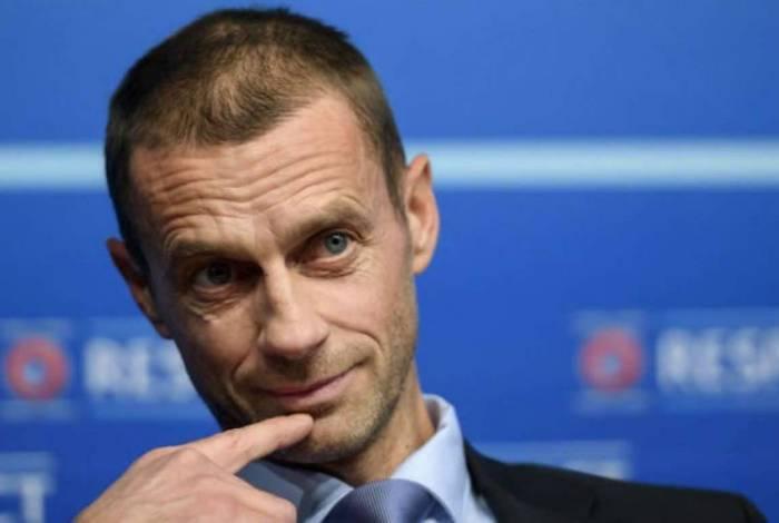 Aleksander Ceferin é o presidente da UEFA