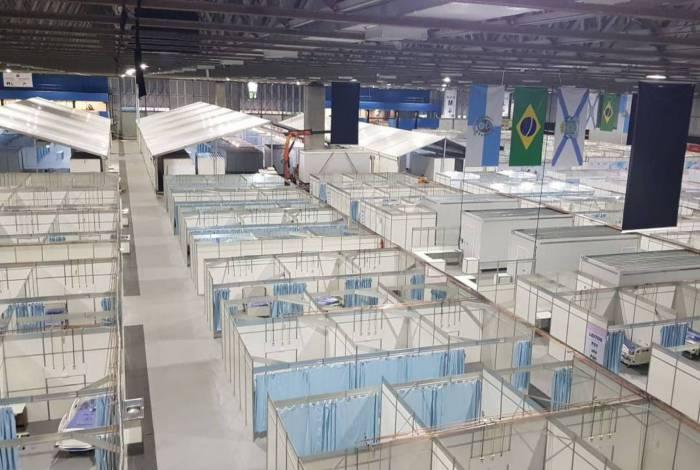 PREFEITURA DO RIO CONCLUI OBRA DO HOSPITAL DE CAMPANHA DO RIOCENTRO