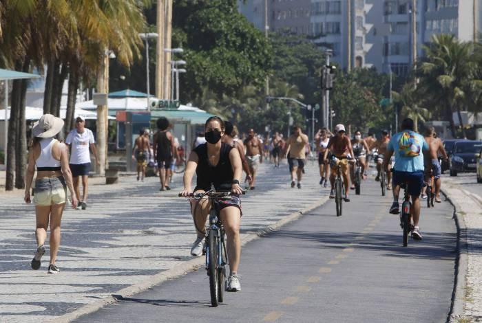 Copacabana, na Zona Sul do Rio, é o bairro com mais mortes confirmadas pela Prefeitura