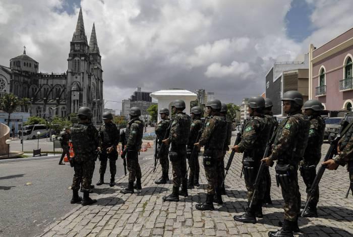 Exército vai investigar como o ataque ao sistema ocorreu e tomar providências legais