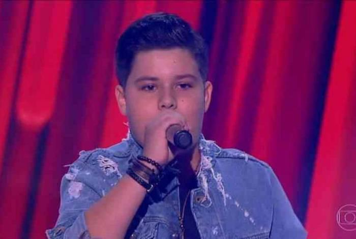 Tuco Almeida era natural de Minas Gerais e se apresentou no The Voice Kids em 2018