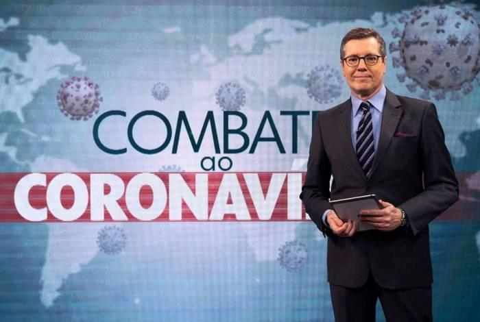 Marcio Gomes no comando do 'Combate ao Coronavírus'
