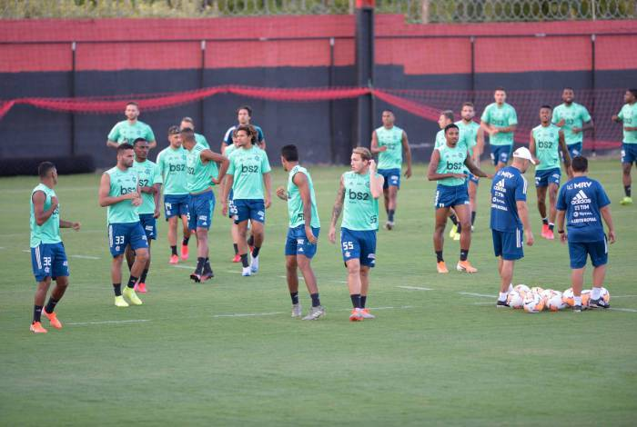 Elenco do Flamengo