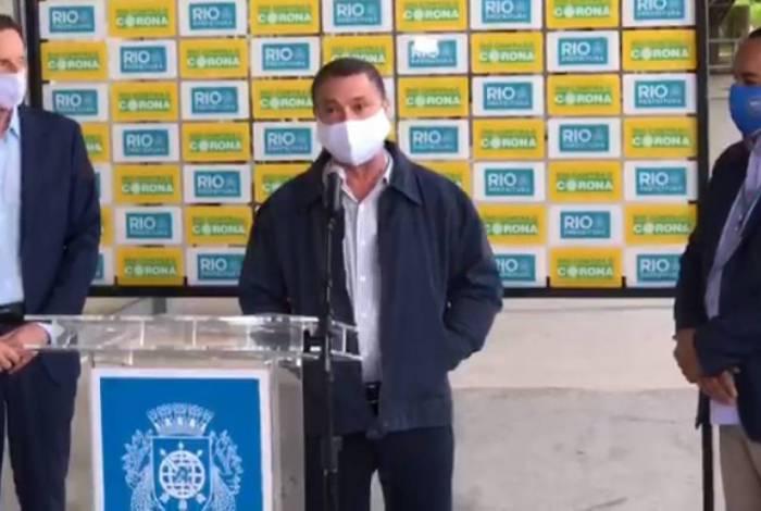 Secretário de Infraestrutura e Habitação, Sebastião Bruno