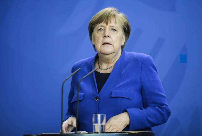 Chanceler alemã, Angela Merkel, apoia o projeto de lei