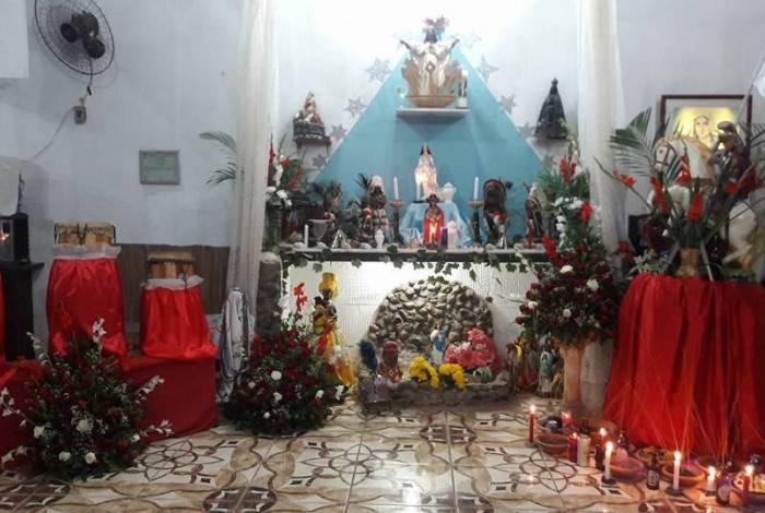 Tenda Casa Pai João do Congo, em Nova Iguaçu