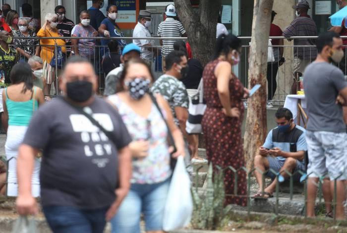 Rio está em risco 'moderado' de transmissão do coronavírus