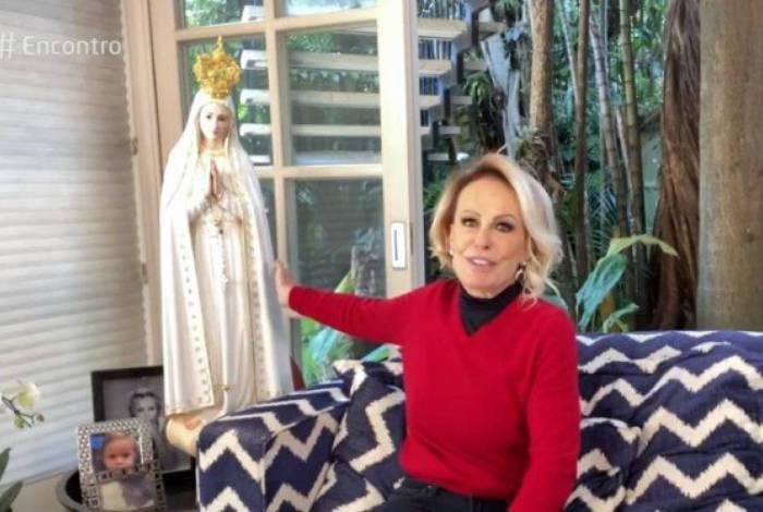 Ana Maria agradece a Nossa Senhora de Fátima por vencer o câncer