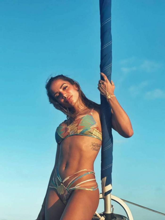 Anitta nas Ilhas Maldivas
