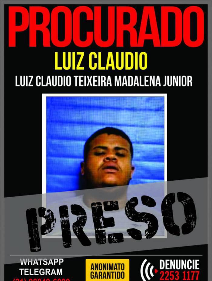 Luiz Claudio Teixeira Madalena Junior, de 22 anos