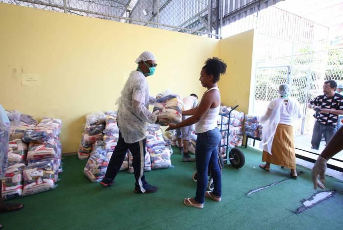 A lista de beneficiados, a data e o local de retirada das cestas serão divulgados no site da Prefeitura, conforme acontece com os demais programas assistenciais (foto)