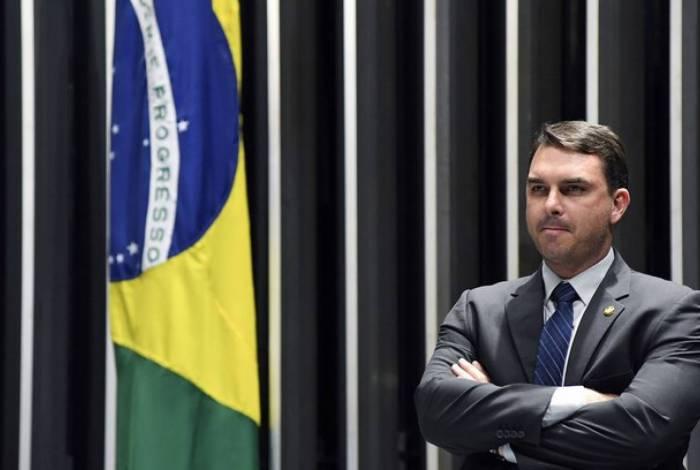 Senador Flavio Bolsonaro