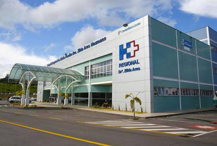 Hospital Regional Zilda Arns, em Volta Redonda, é um dos locais que ainda estão com leitos para receber pacientes da covid-19