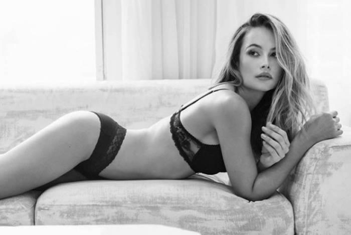 Natália Borges é namorada de Lavezzi