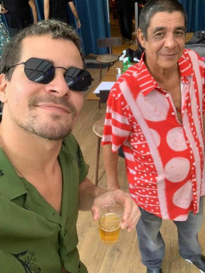 Thiago Martins e Zeca Pagodinho furam a quarentena