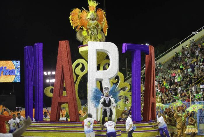 Carnaval 2020 - Desfile da Escola de Samba do Grupo de Acesso, G.R.E.S Acadêmicos do Sossego, no Sambódromo da Marquês de Sapucaí, no centro da cidade do Rio de Janeiro nesta Sábado (22). Foto: Ricardo Cassiano/Agencia O Dia