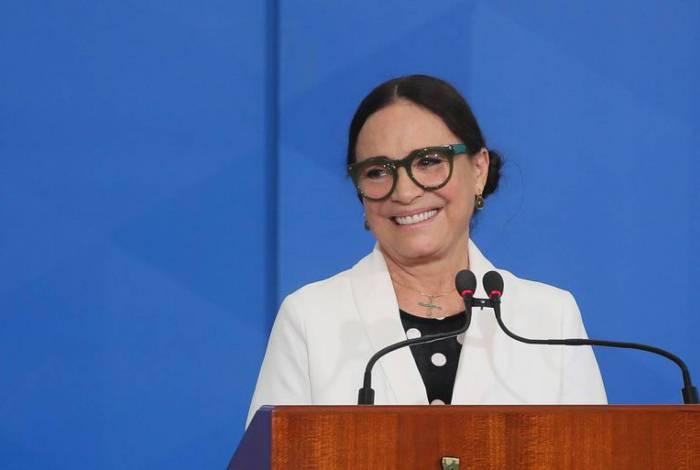 Chefe de gabinete de Regina Duarte é exonerado do cargo