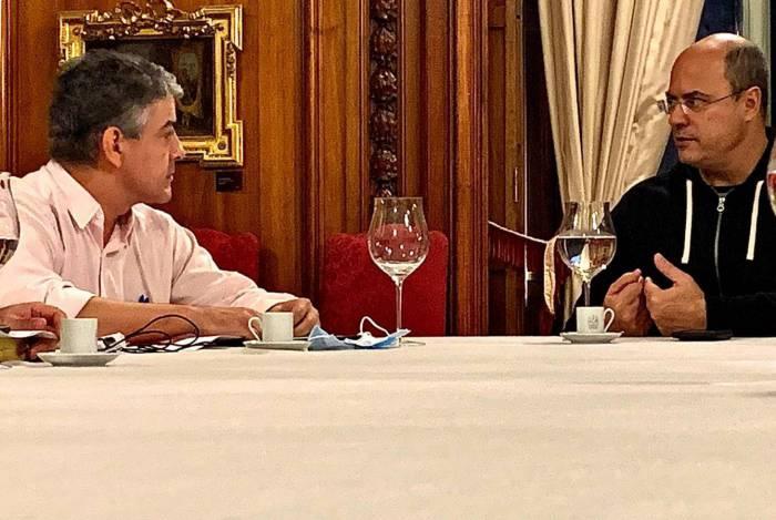 Fernando Ferry se reuniu com Wilson Witzel neste domingo