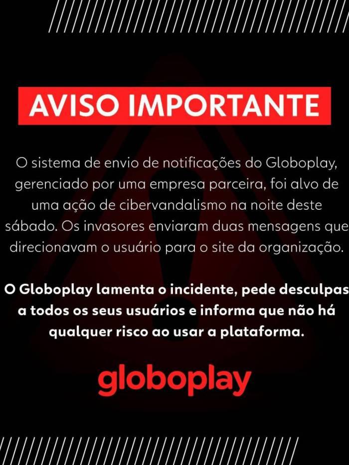 Globoplay é hackeada