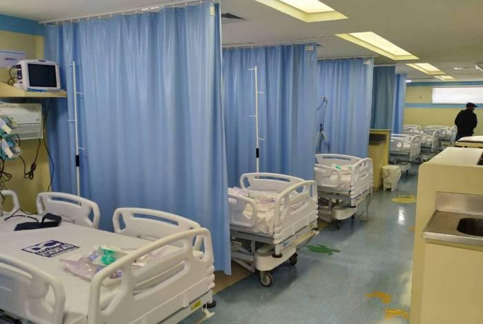 Taxa de ocupação nos leitos de enfermaria para pacientes com suspeita de coronavírus é de 39%
