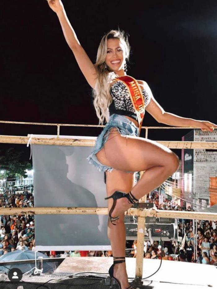 Eduarda Bezerra é musa do Sport