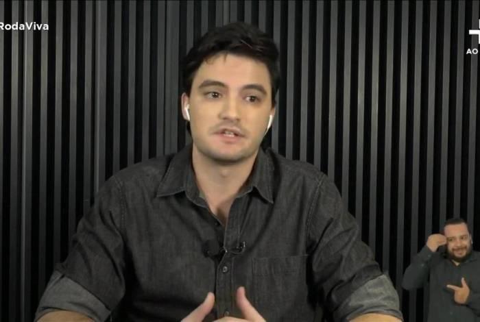 Felipe Neto foi o entrevistado desta segunda-feira do programa Roda Viva