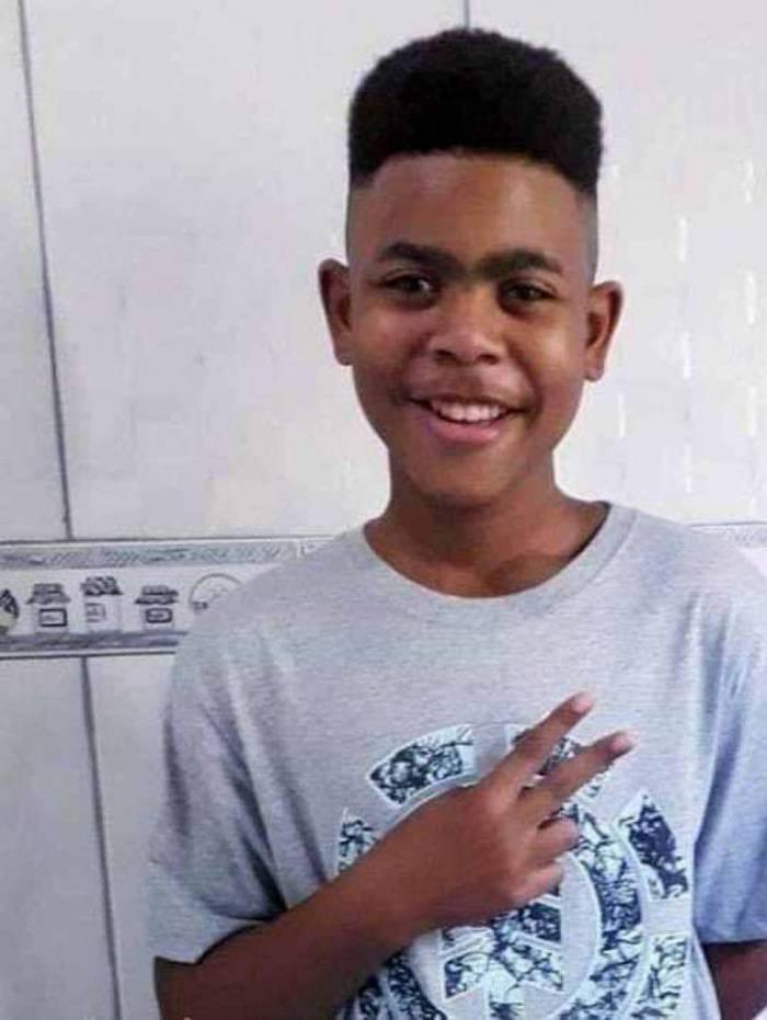 João Pedro Matos Pinto tinha 14 anos