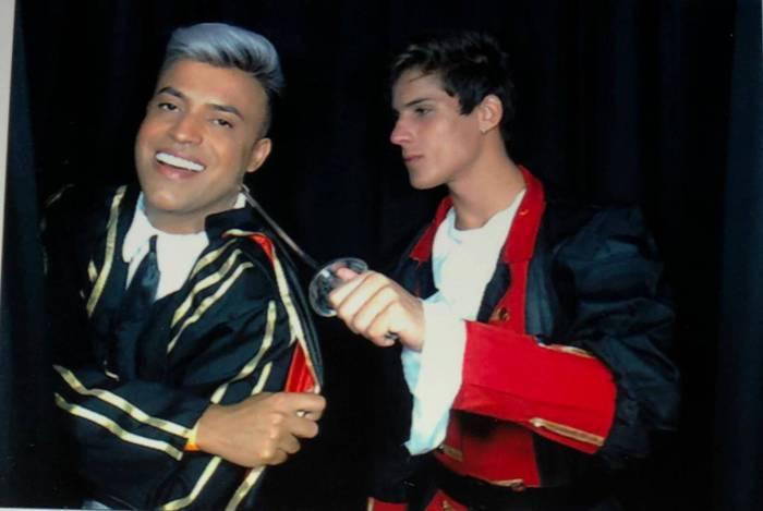 Irinaldo Oliver e Tiago Ramos