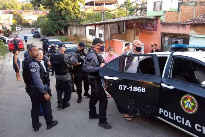 Operação acontece em Nova Iguaçu