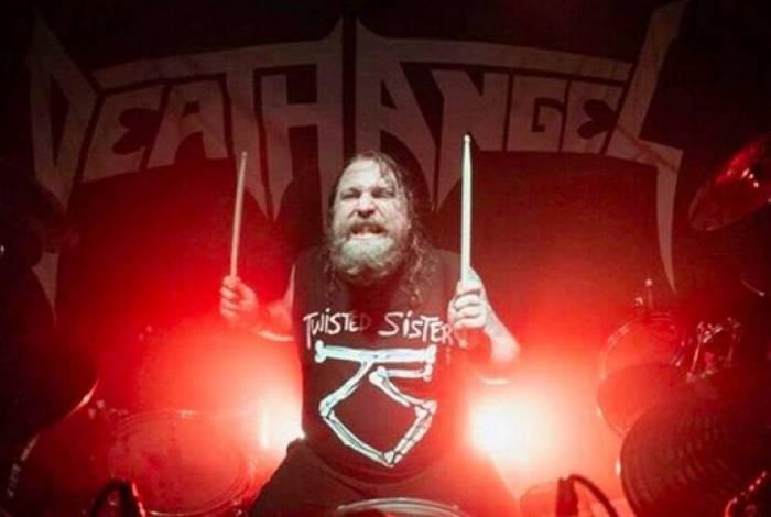 Will Carroll é baterista do Death Angel