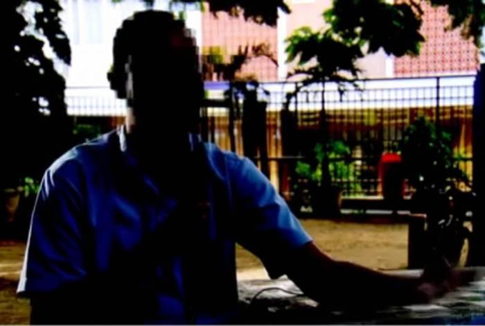Morador conta que foi alvo de tiros por parte da polícia enquanto estava varrendo laje