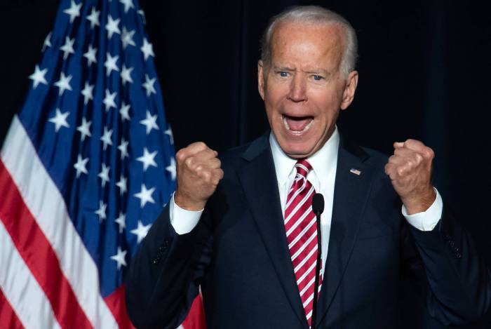 Joe Biden já foi senador e vice-presidente dos Estados Unidos