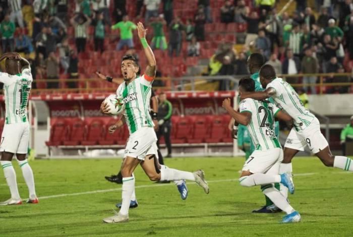 Daniel Muñoz, do Atlético Nacional: alvo para reforçar o Flamengo