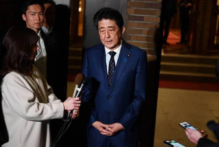 Primeiro-ministro do Japão, Shinzo Abe