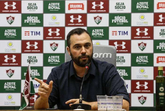 Presidente do Fluminense, Mário Bittencourt