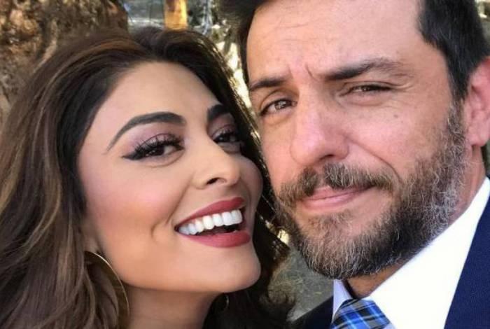Juliana Paes e Rodrigo Lombardi farão uma live juntos