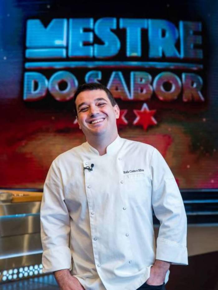 Chef Rafa Costa e Silva integra o time do programa 'Mestre do Sabor'