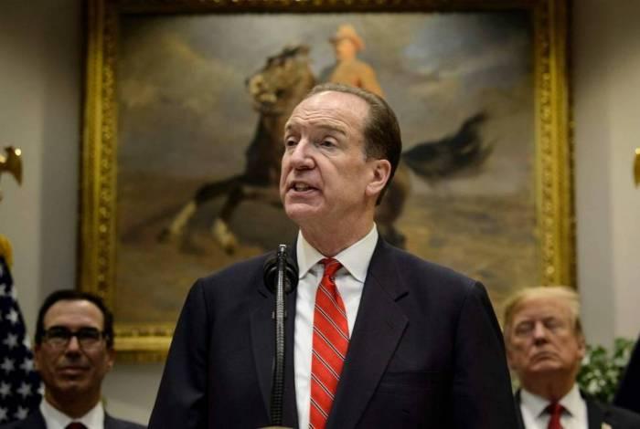 Presidente do Banco Mundial, David Malpass