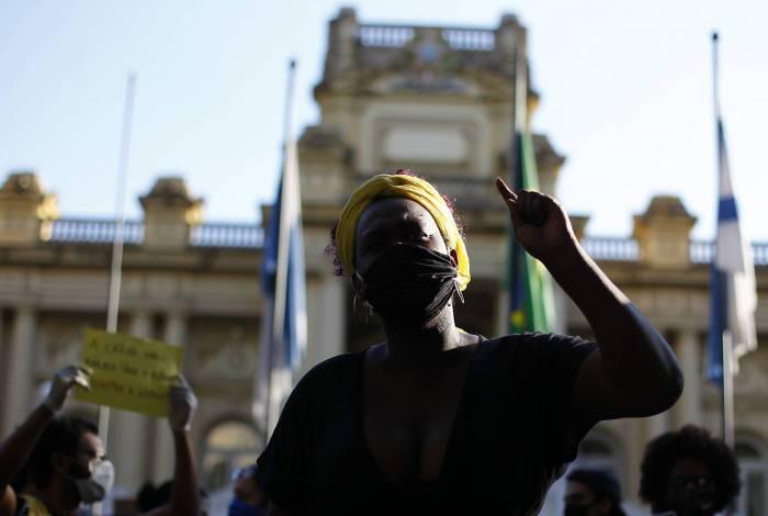 Protesto 'Vidas negras importam'