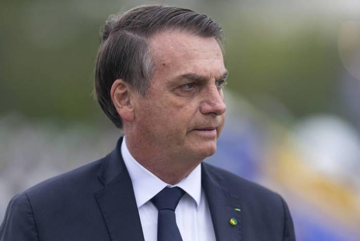 Presidente Jair Bolsonaro conversou com apoiadores na manhã desta quarta-feira, em Brasília