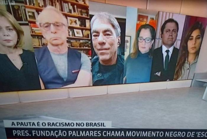 GloboNews coloca apenas jornalistas brancos para debater racismo